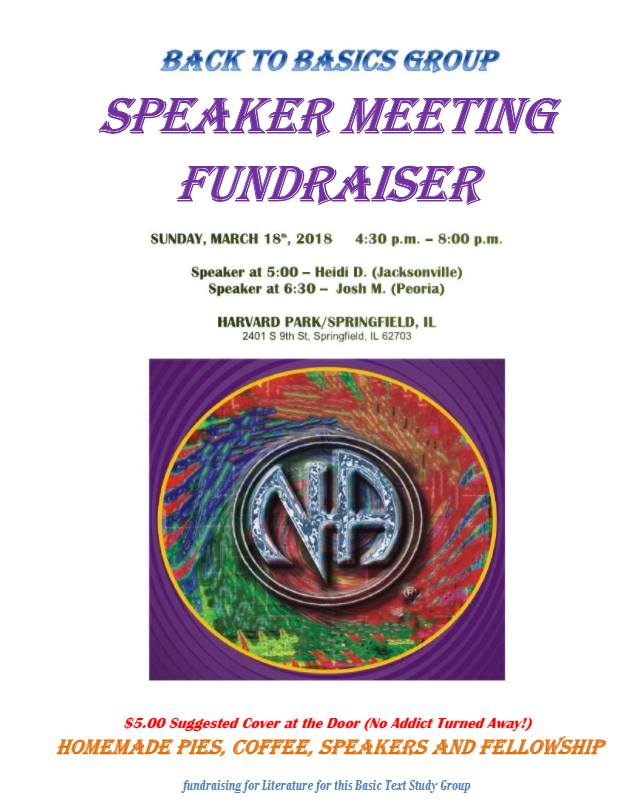 Speaker Fundraiser AND PIE @ Harvard Park Baptitst Church | Springfield | Illinois | United States