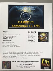 New Beginnings Group Campout @ Crazy Horse Campground | Jacksonville | Illinois | United States